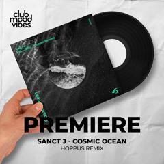 PREMIERE: Sanct J ─ Cosmic Ocean (Hoppus Remix) [Transensation Records]