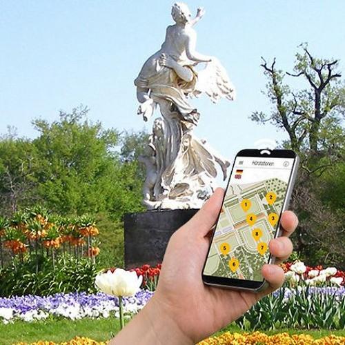 Smartphone-Audioguides | Großer Garten Dresden | Verkehrskonzept und Alleen
