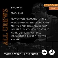 All Crews drum & bass show #4, live on Cratedigs Radio