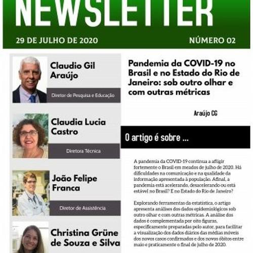Pandemia Da COVID 19 No Brasil E No Estado Do Rio De Janeiro Sob Outro Olhar E Com Outras Métricas