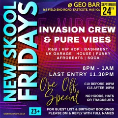 Pure Vibes Ent - Live At New Skool Fridays 24.09.21