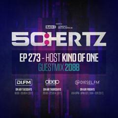 50:HERTZ #273 - Host KIND OF ONE / Guest 2088 (DI.FM / Diesel FM / Deep Radio)