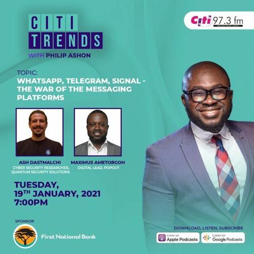Citi Trends: WhatsApp, Telegram, Signal - The war of the messaging platforms