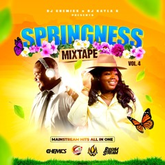 DJ Chemics x DJ Kayla G - SPRINGNESS Vol. 4 (2021 MAINSTREAM Hits Mixtape) @RIDDIMSTREAM