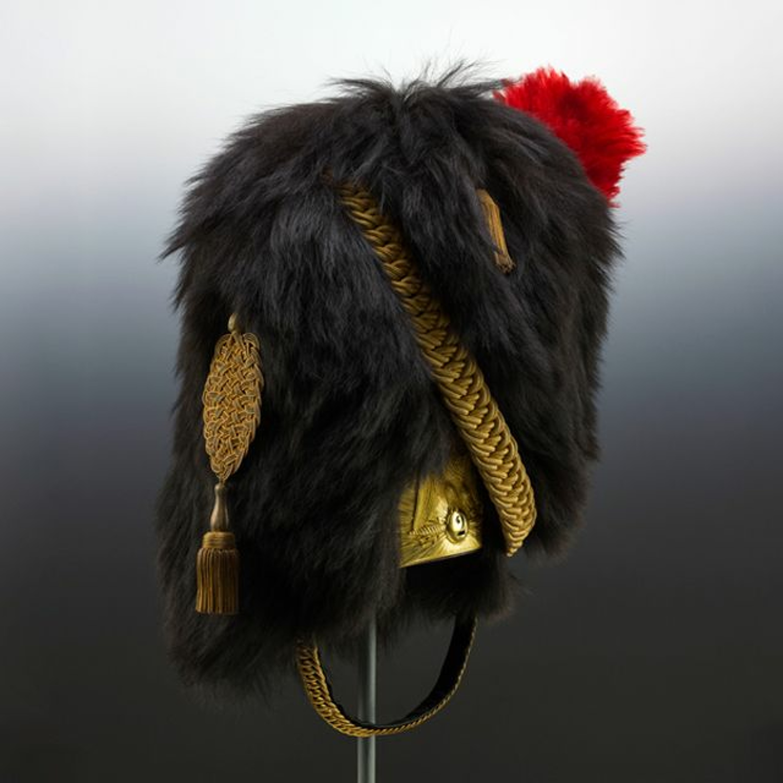 Guide numérique : 20. Bonnet à poil de la Garde impériale
