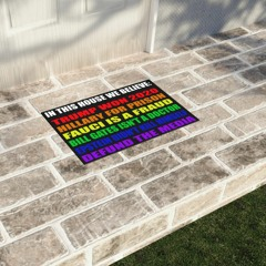 LGBT In this house we believe Trump won 2020 Hillary for prison doormat