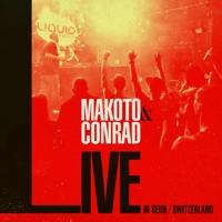 Makoto & MC Conrad - Live In Bern, Switzerland Oct 2019 Artwork