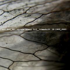 Artificial Memory Trace / :zoviet*france: / uni.Sol / Cicadas - Timeshift