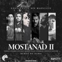 Putak x Shahin Najafi x Fadaei x Pishro x Bahram x Hosein Epicure - Mostanad 2 (Fama Remix) Artwork