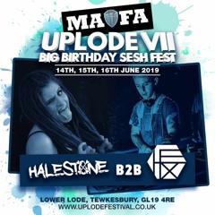 Hex Vs Halestone - LIVE @ Uplode VII