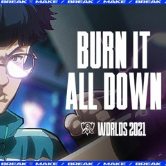 Burn It All Down (3D AUDIO)(ft. PVRIS)(Listen with Headphones)