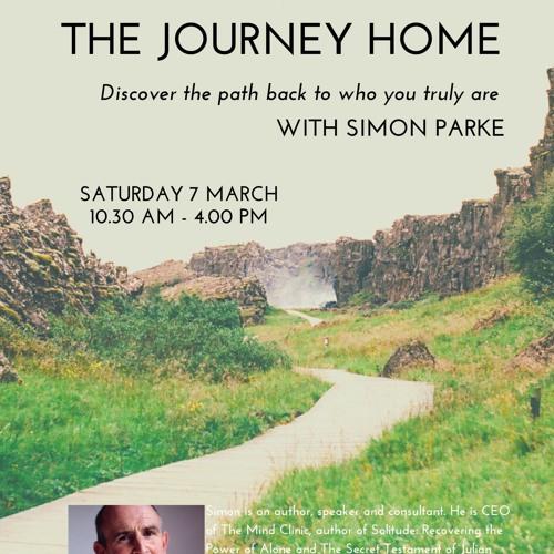 The Journey Home Simon Parke. 07 March 2020