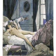 """""""Ferngruß von Bett zu Bett"""" von Joachim Ringelnatz 1883-1934"""