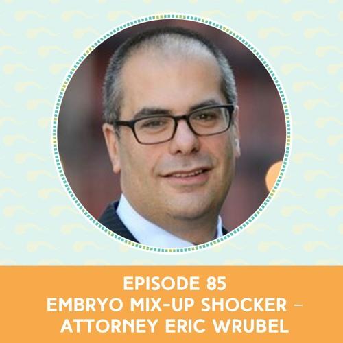 Episode 85: Embryo Mix-Up Shocker – Attorney Eric Wrubel