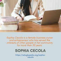 Sophia Cecola - E - Commerce Expert