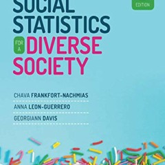 (PDF BOOK) Social Statistics for a Diverse Society android