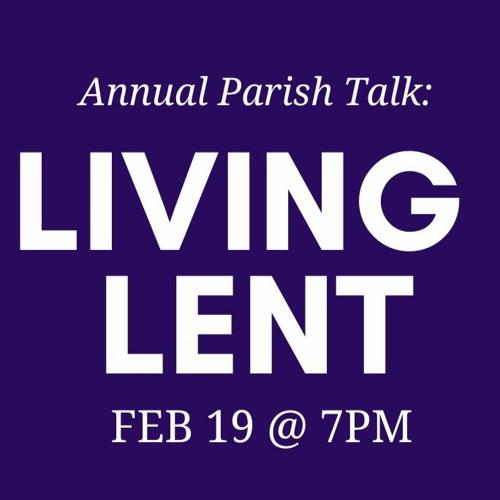 Living Lent 2021