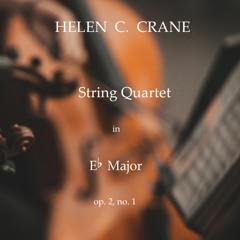 Highlights Of Helen C.Crane String Quartet No. 1 In Eb Major Op.2 No.1