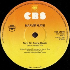 Marvin Gaye - Turn On Some Music (Quenum Edit) - FREE DOWNLOAD