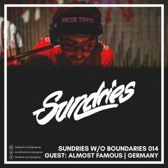 Sw/oB Podcast 014 w/ Igor Gonya & Almost Famous