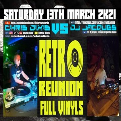 Chris Dixis Vs Dj Jacques Retro Trance,House Full Vinyls.Saturday 13 March 2k21