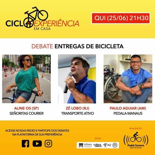 CICLOEXPERIÊNCIA 2020 - EM CASA - ENTREGAS DE BICICLETA