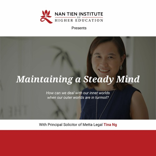 Maintaining a Steady Mind with Tina Ng