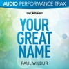 Your Great Name (Original Key With Background Vocals)