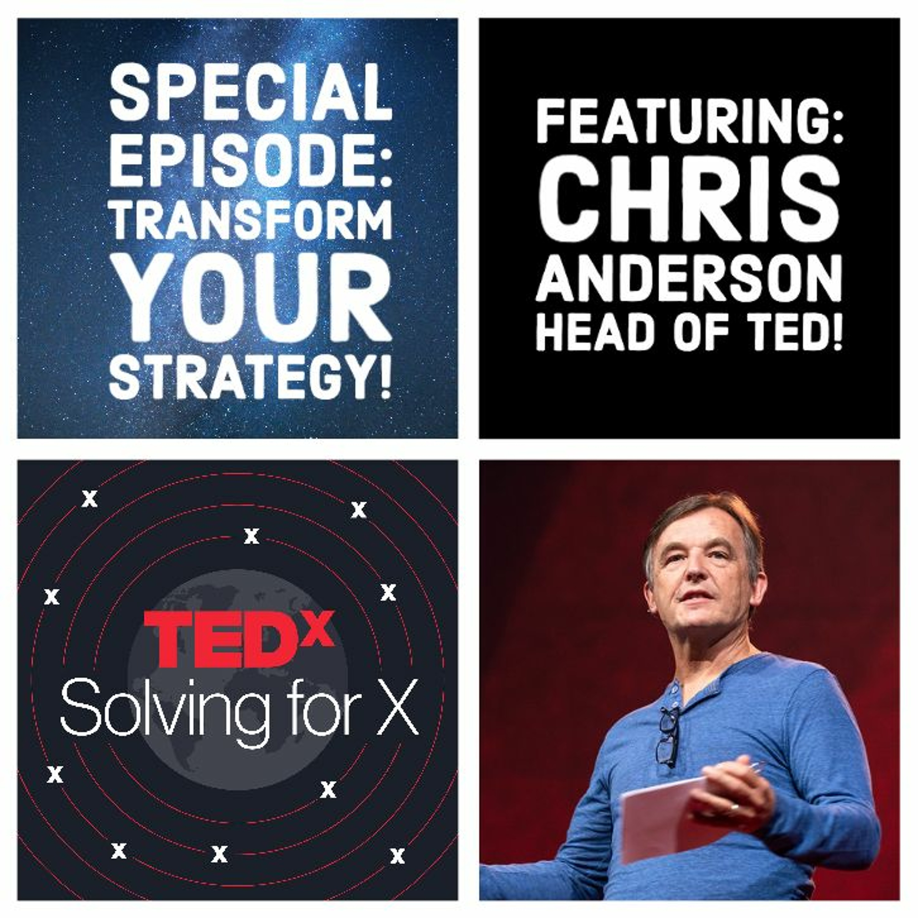 Transform your strategy — Chris Anderson, Head of TED