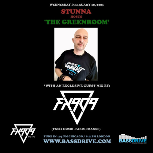STUNNA - Greenroom DNB Show (FX909 Guest Mix) (10/02/2021)