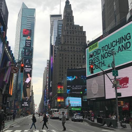 NYC soundwalk COVID-19