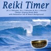 Reiki Timer 26 X 1 Minute Tibetan Singing Bowl Bell with Relaxation Sea & Beach Background