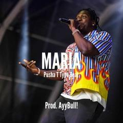 """Pusha T Type Beat """"Maria"""" (Prod. AyyBull!)"""