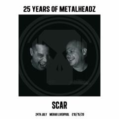 SCAR - Metalheadz Promo Mix - Liverpool, 24 July 2021