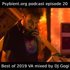 psybient.org podcast ep20 - DJ Gogi - 2019 VAs Picks Mix