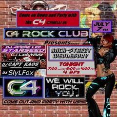 C4 ROCK CLUB - Wednesday 7/07/21