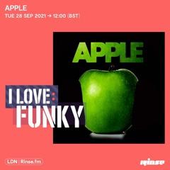 I Love: Funky - Apple - 28 September 2021