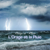 Bach Bourree with Relaxing Rain and Thunder Shower for Deep Sleep Music for Sleep and True Relaxation