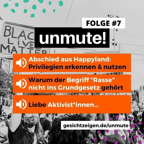unmute! #7 - Byebye Happyland, Grundgesetzänderung & die Jugend von Heute