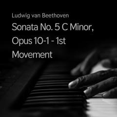 Sonata No. 5 C Minor, Opus 10-1 - 1st Movement