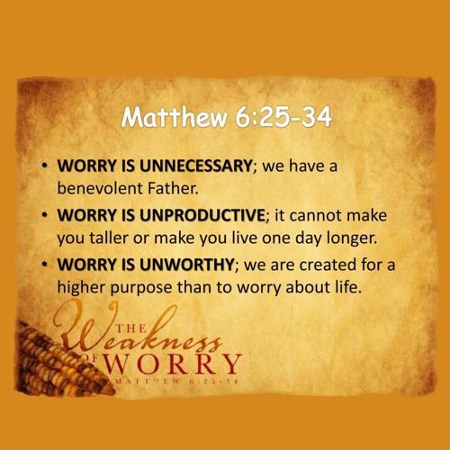 Don't Worry - Sun 16 Feb 2020