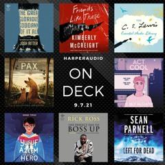 On Deck - Audiobooks on sale 9.7.21