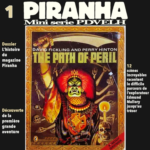 Mini Serie Piranha: La Pierre de Sang