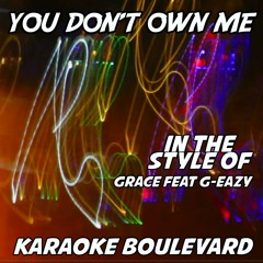 You Don't Own Me (Vocal Mix)