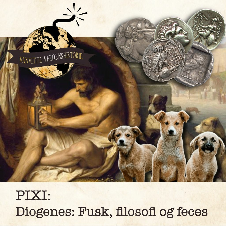 PIXI: Diogenes: Fusk, filosofi og feces