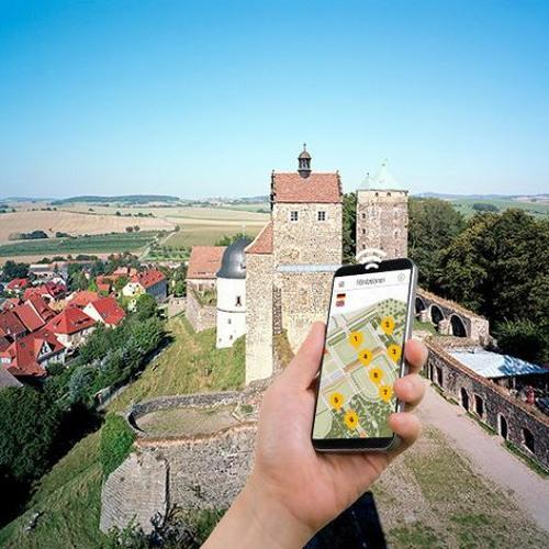 Smartphone-Audioguides   Burg Stolpen   Naturdenkmal Stolpener Basalt