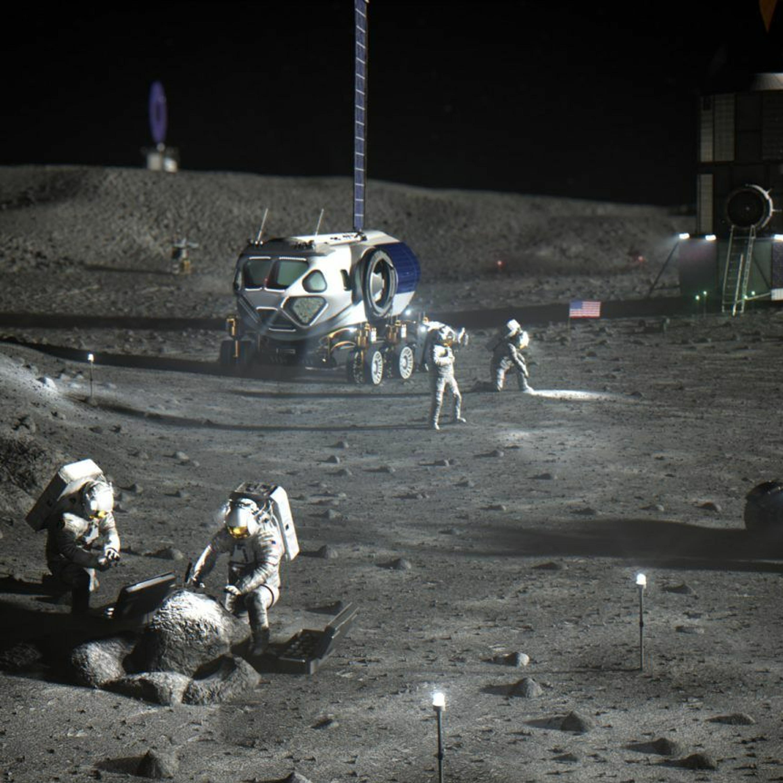 NASA's Early Lunar Artemis Base Camp Plans