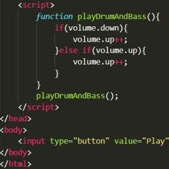 function playDrumAndBass(){}