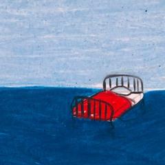 Un lit sur l'eau