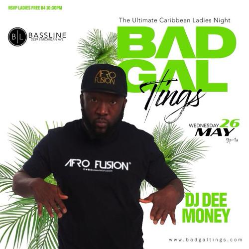 DJ DEE MONEY LIVE AT BAD GAL TINGS  -5/23